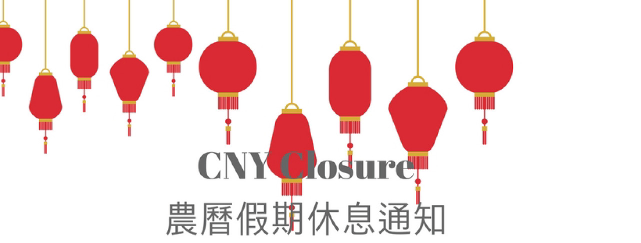 CNY Closure Notice